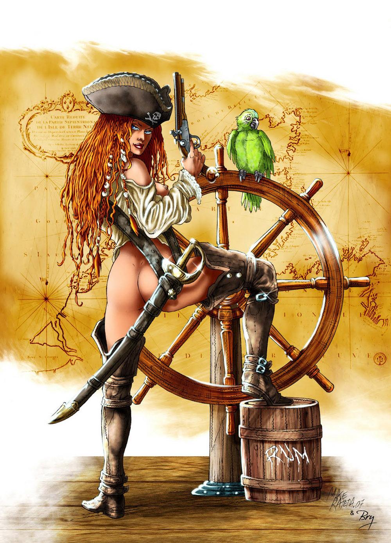 nude pirate women pics